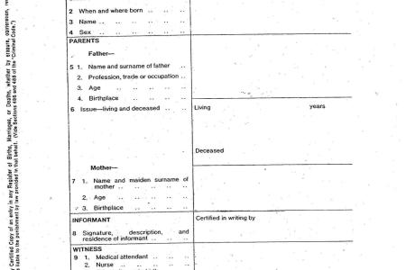 change name on birth certificate california » Free Professional ...