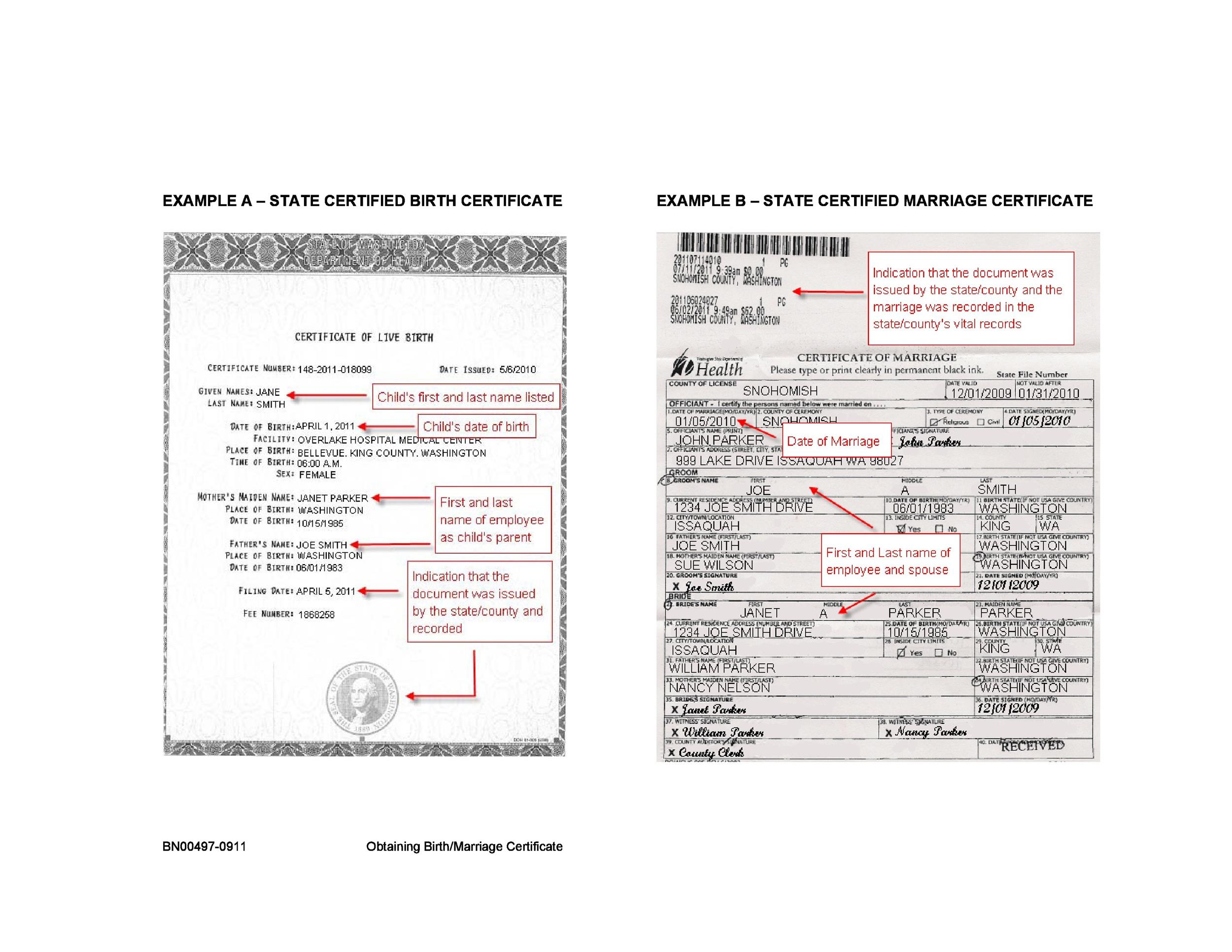 15 birth certificate templates word and pdf template lab free – Fake Birth Certificate Template Free