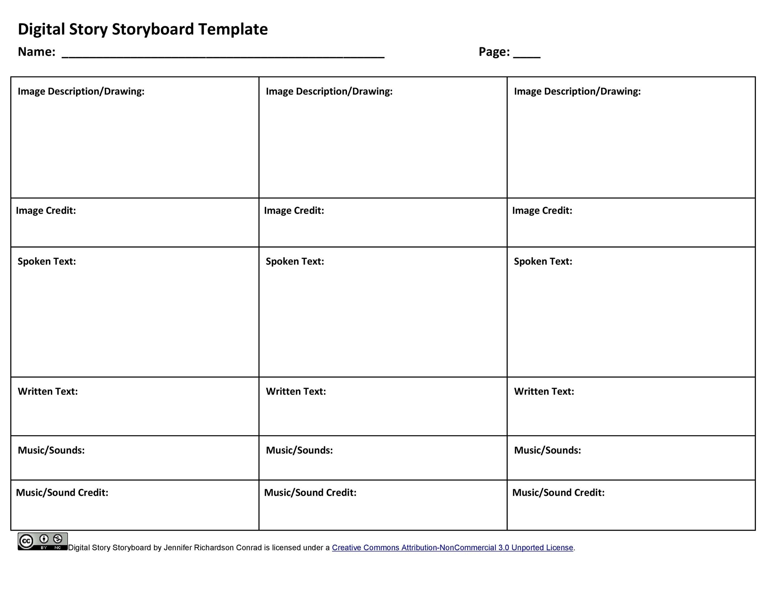 40 Professional Storyboard Templates Amp Examples