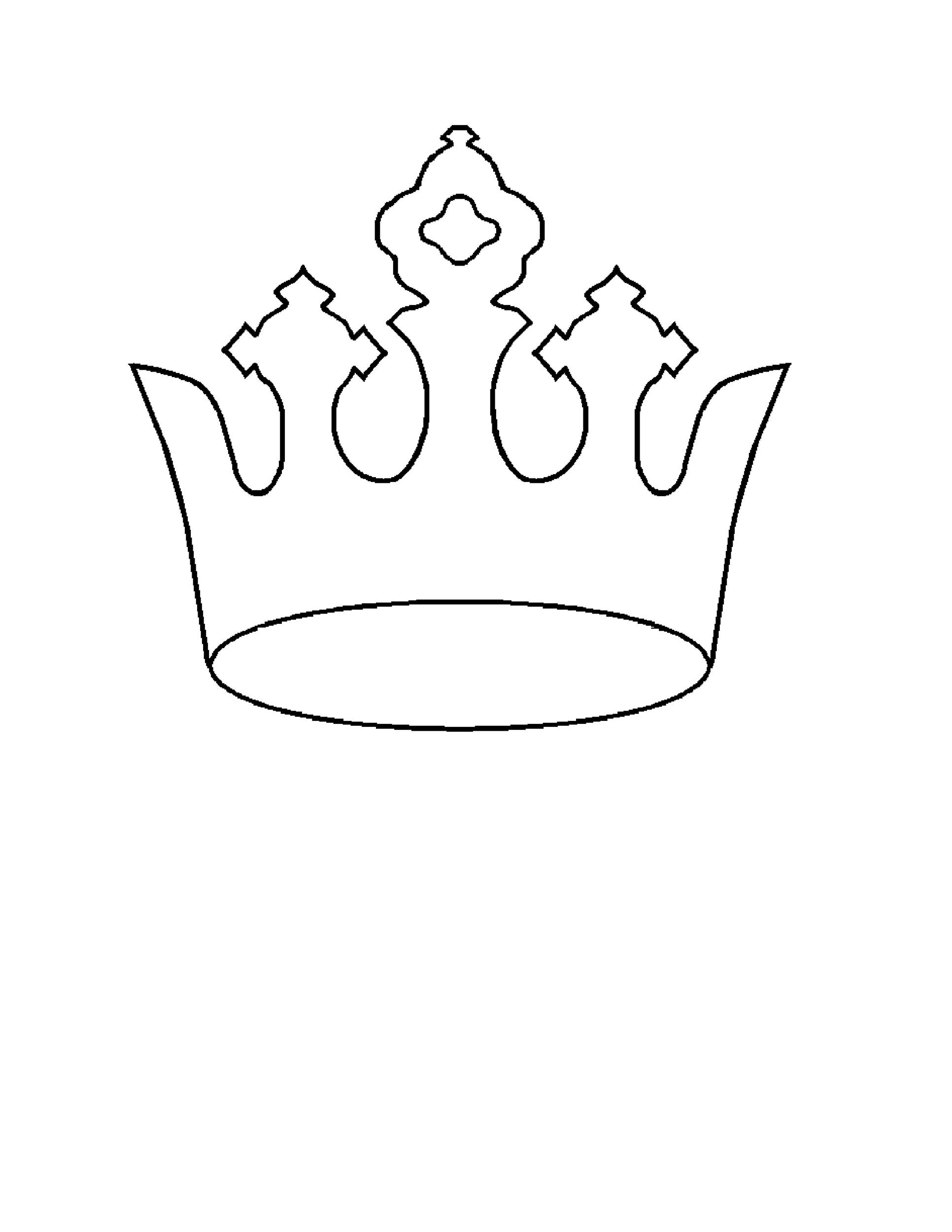 Priceless Crown Pattern Printable