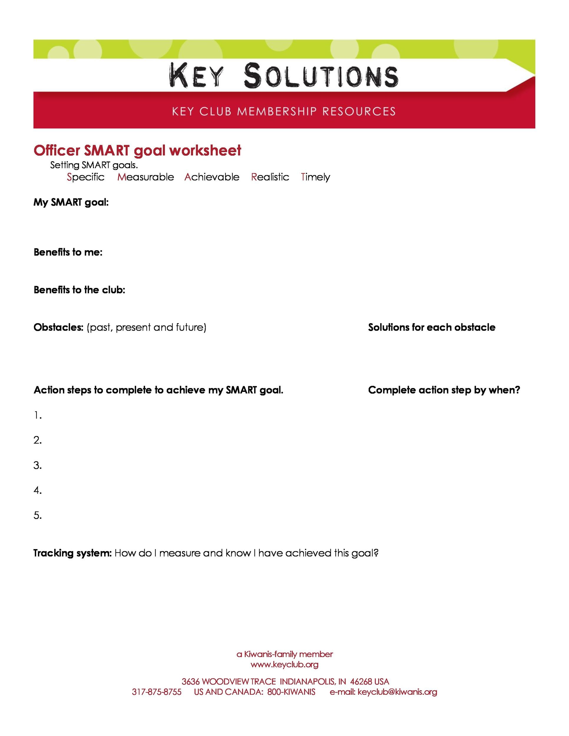 48 Smart Goals Templates Examples Amp Worksheets Templatelab