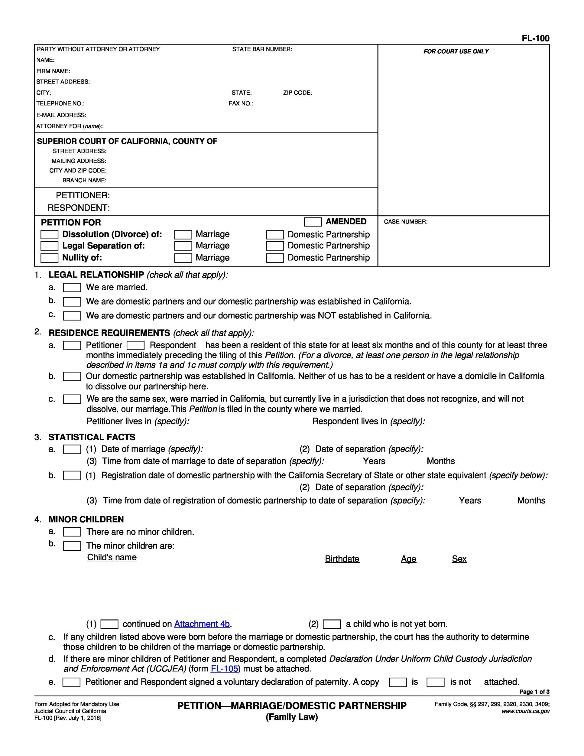 Doc12831658 Free Fake Divorce Certificate 7 free online – Free Fake Divorce Certificate