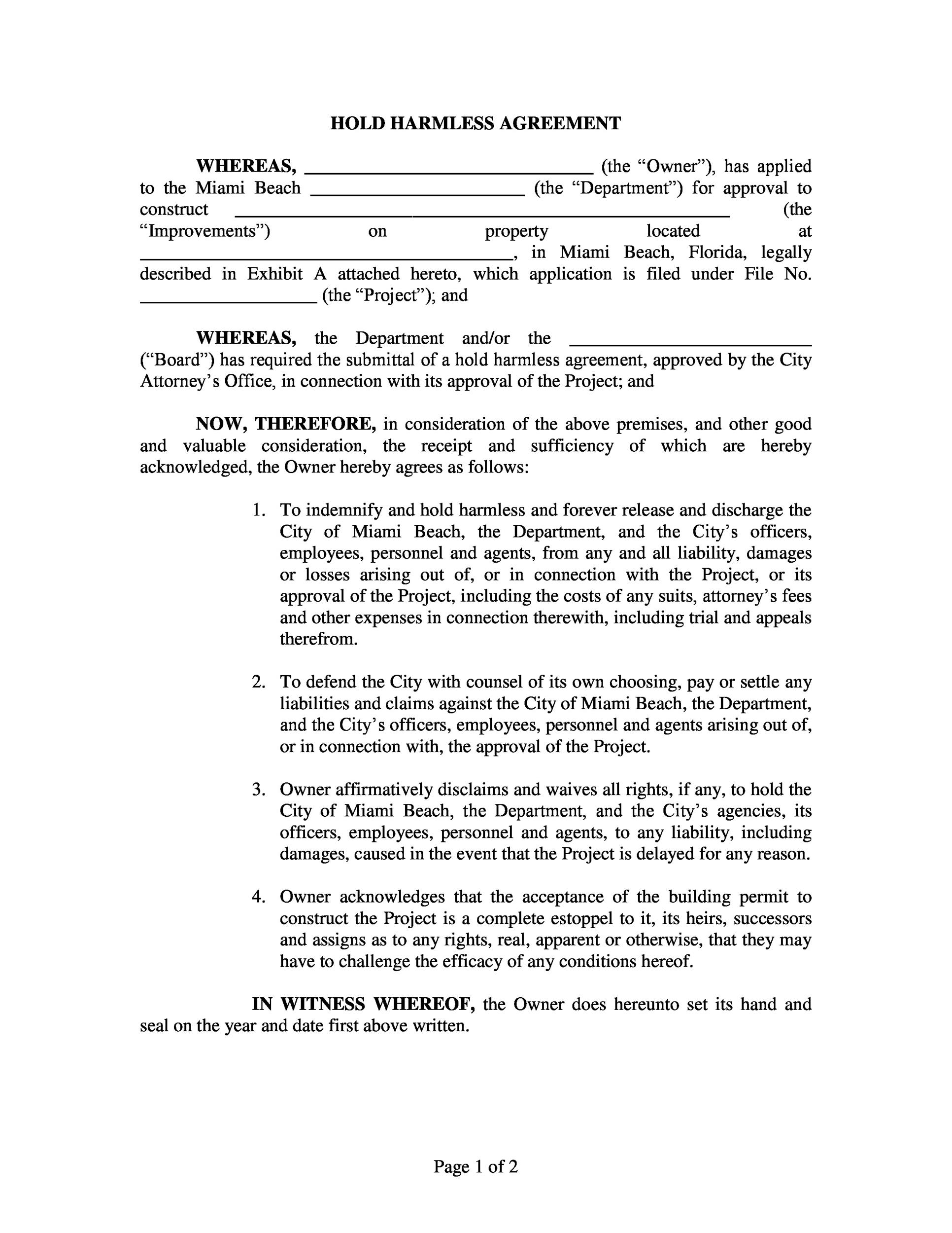 Indemnity Agreement Template additionally sales agency – Deed of Indemnity