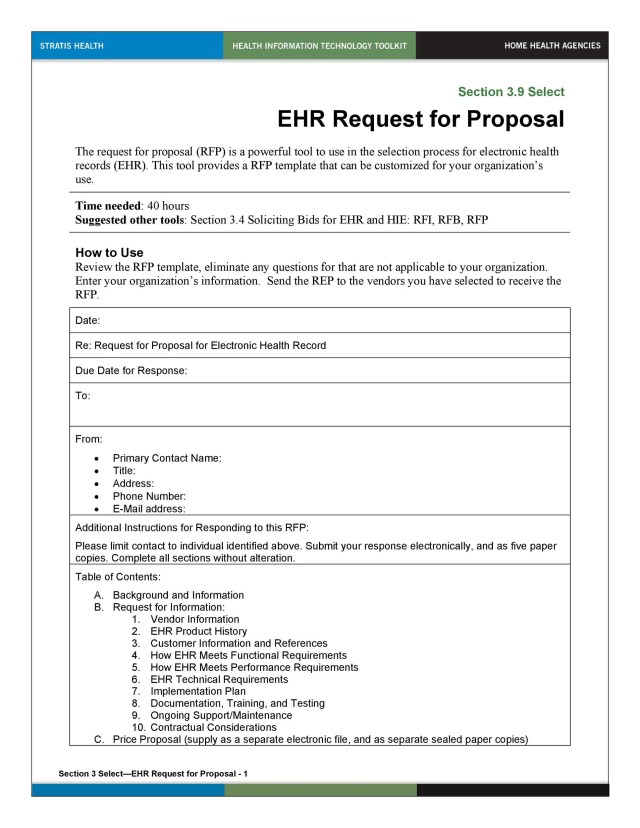 21+ Best Request for Proposal Templates & Examples (RPF Templates)