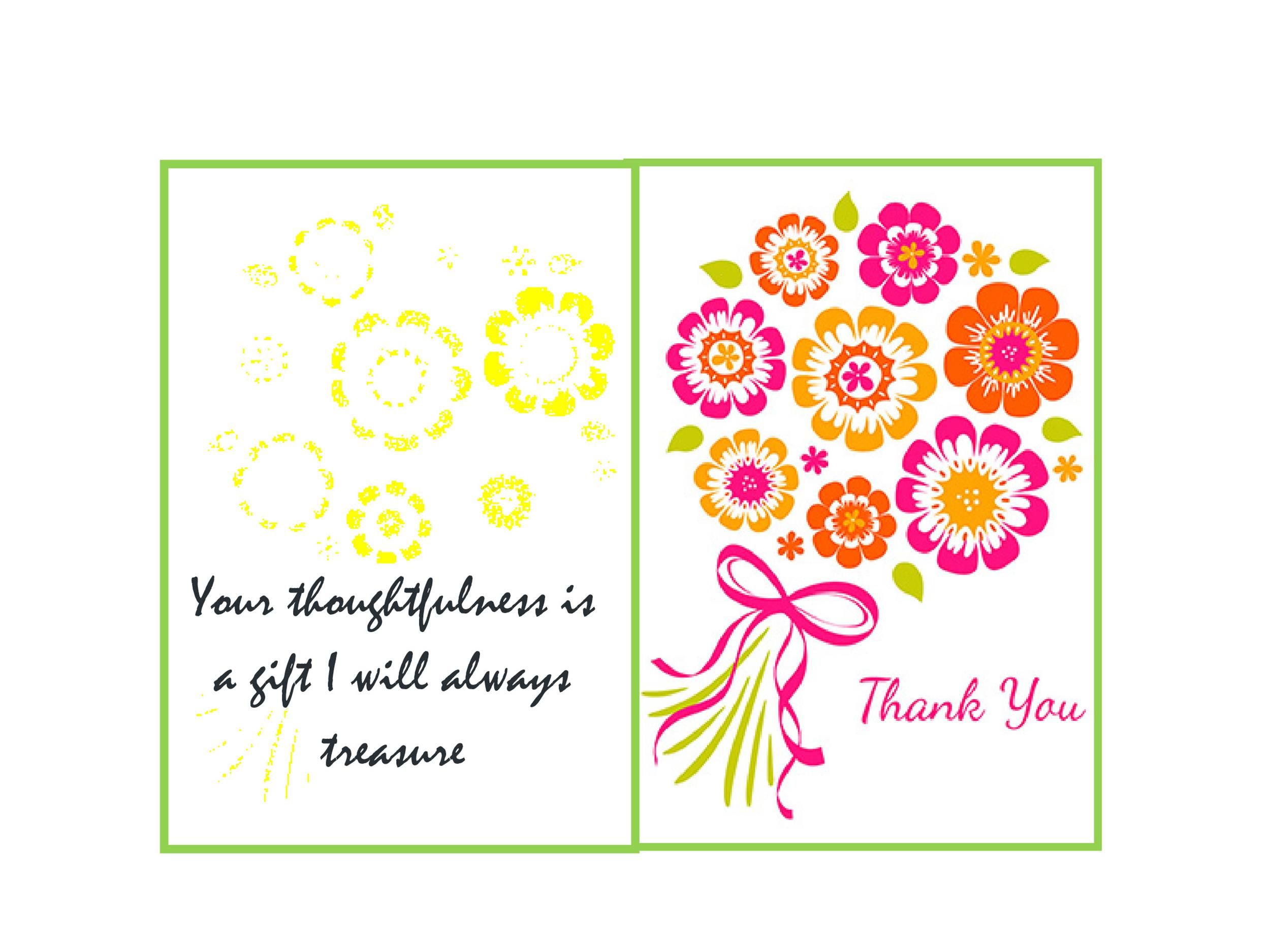 Thank You Cards Templates wedding thank you card template card – Create Wedding Thank You Cards Online