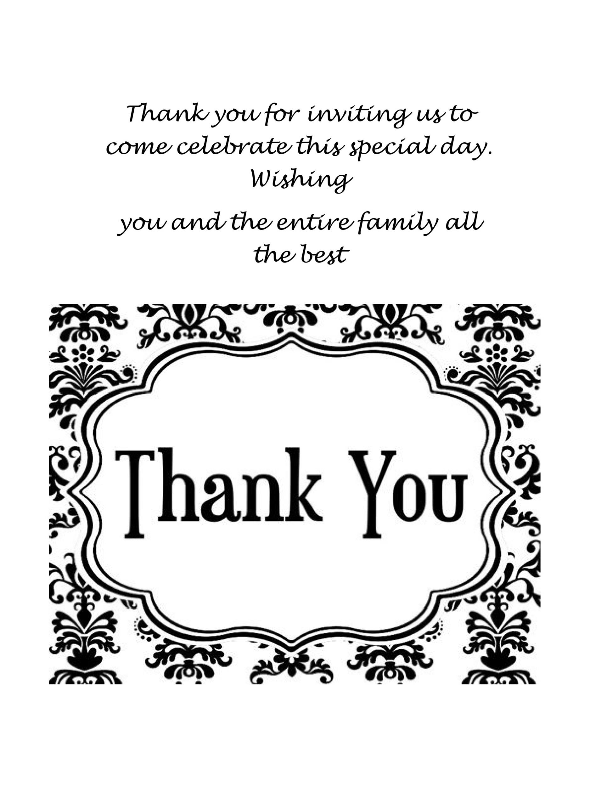 11 Free Thank You Card Templates