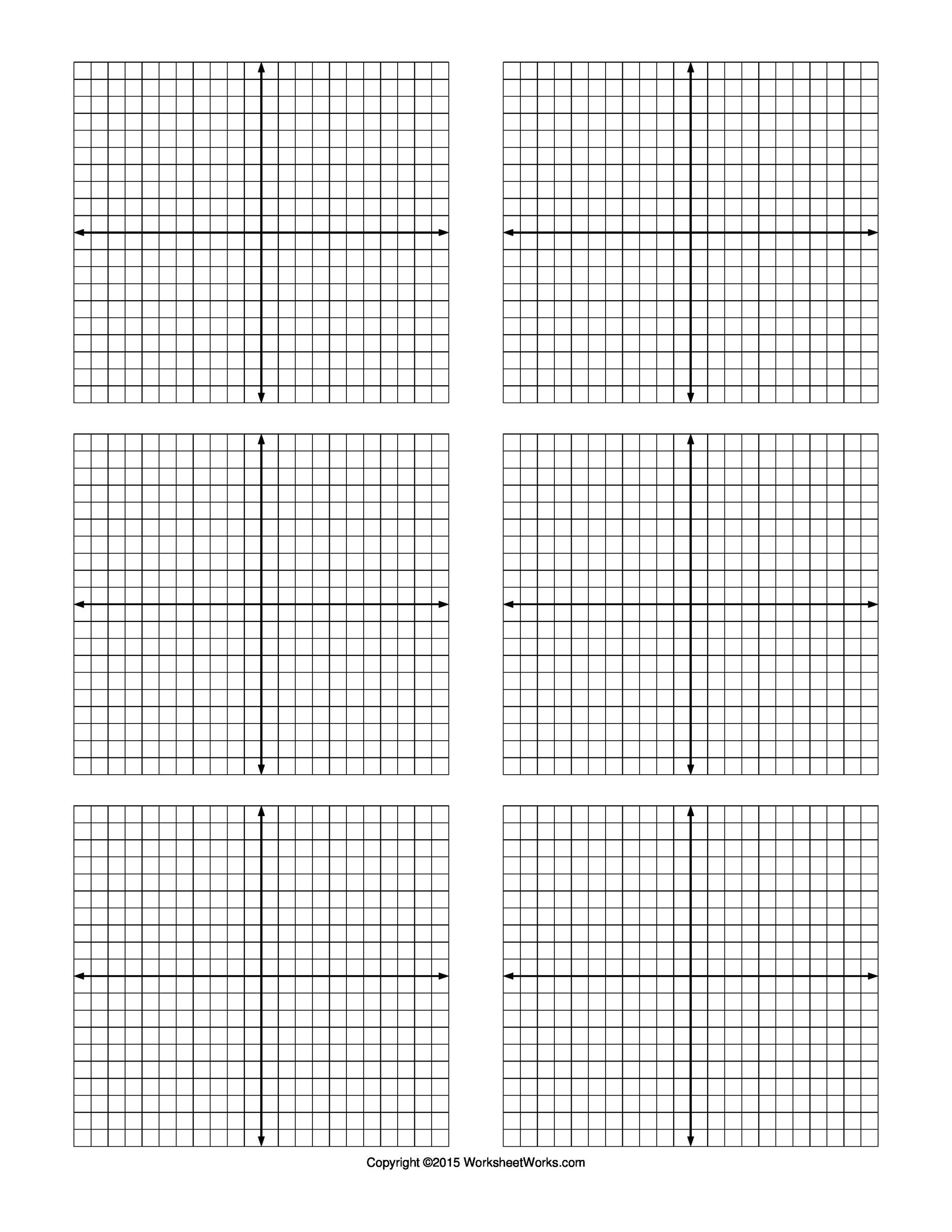 Adaptable Printable Coordinate Grids
