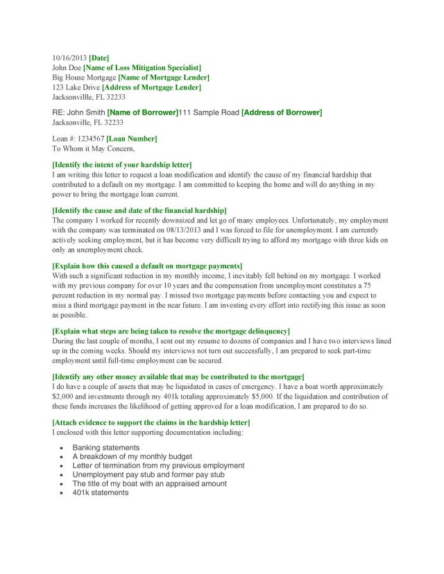 22 Simple Hardship Letters (Financial, for Mortgage, for Immigration)