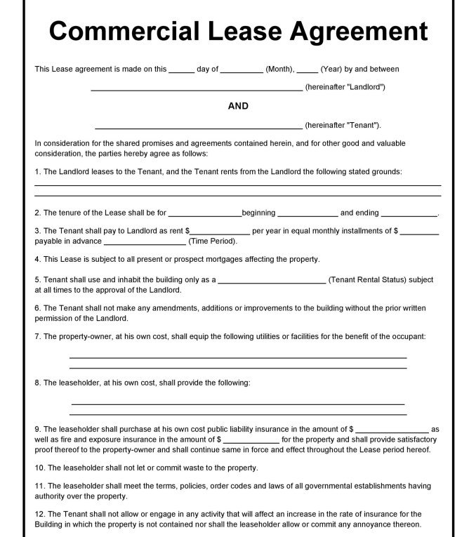Letter Of Intent For Commercial Lease California | Newsinvitation.co