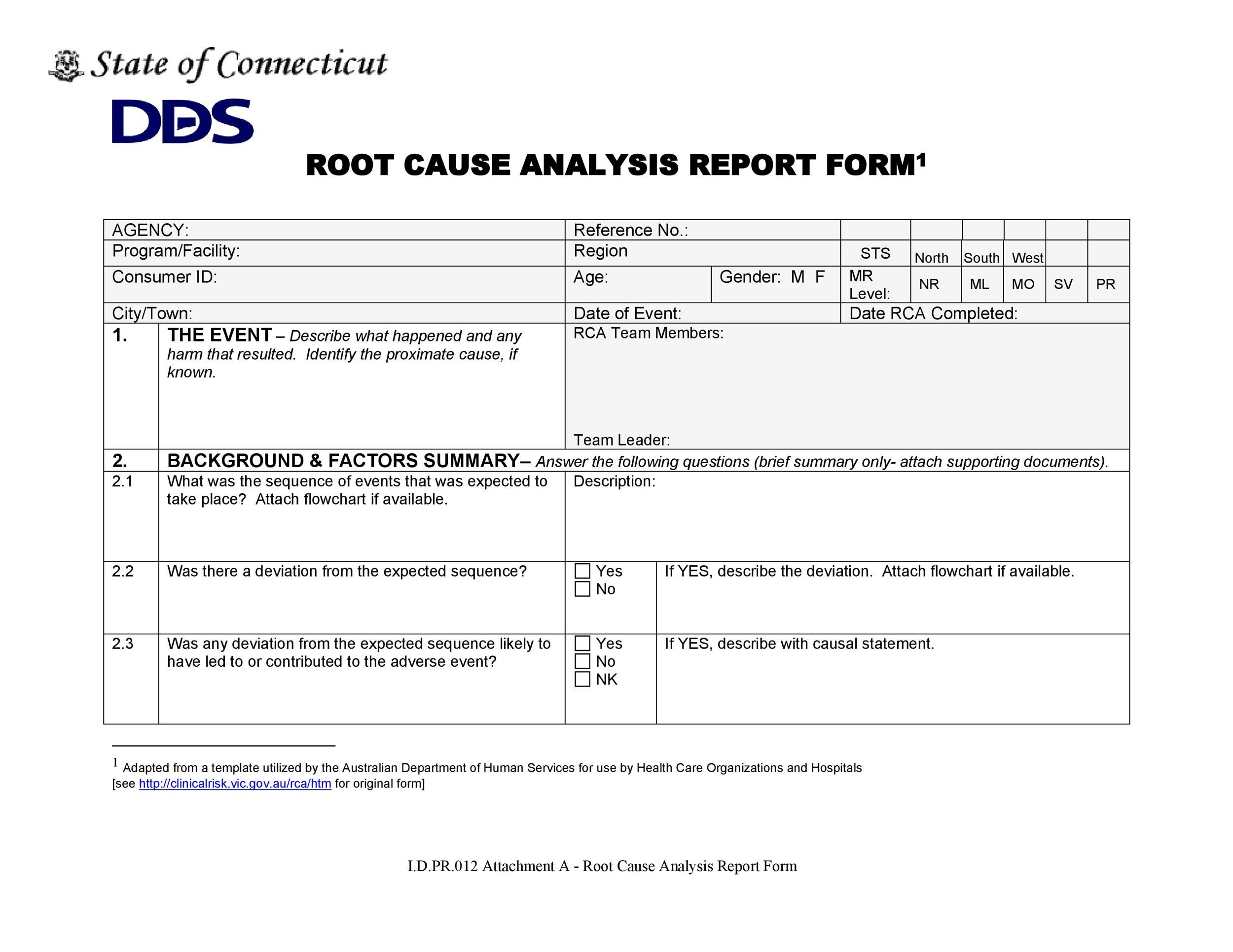 40 Effective Root Causeysis Templates Forms Amp Examples