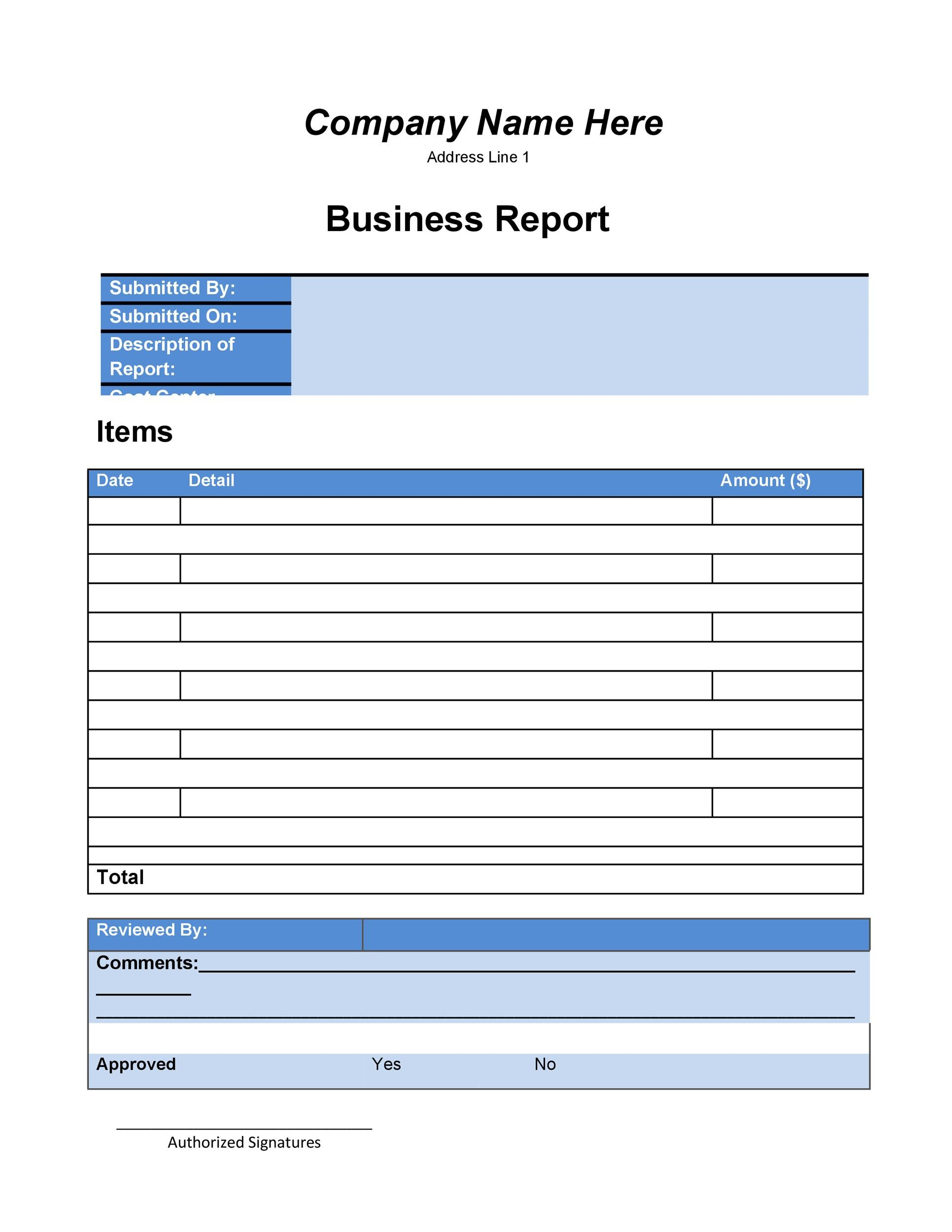 project report cover page