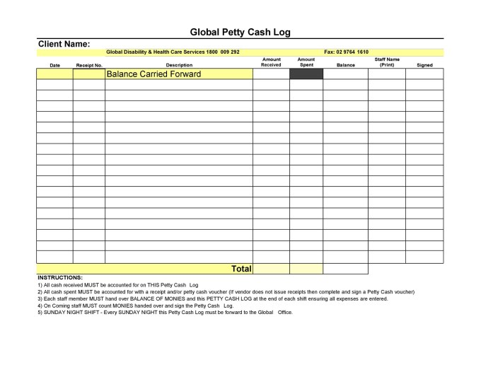 petty cash policy template uk its your template