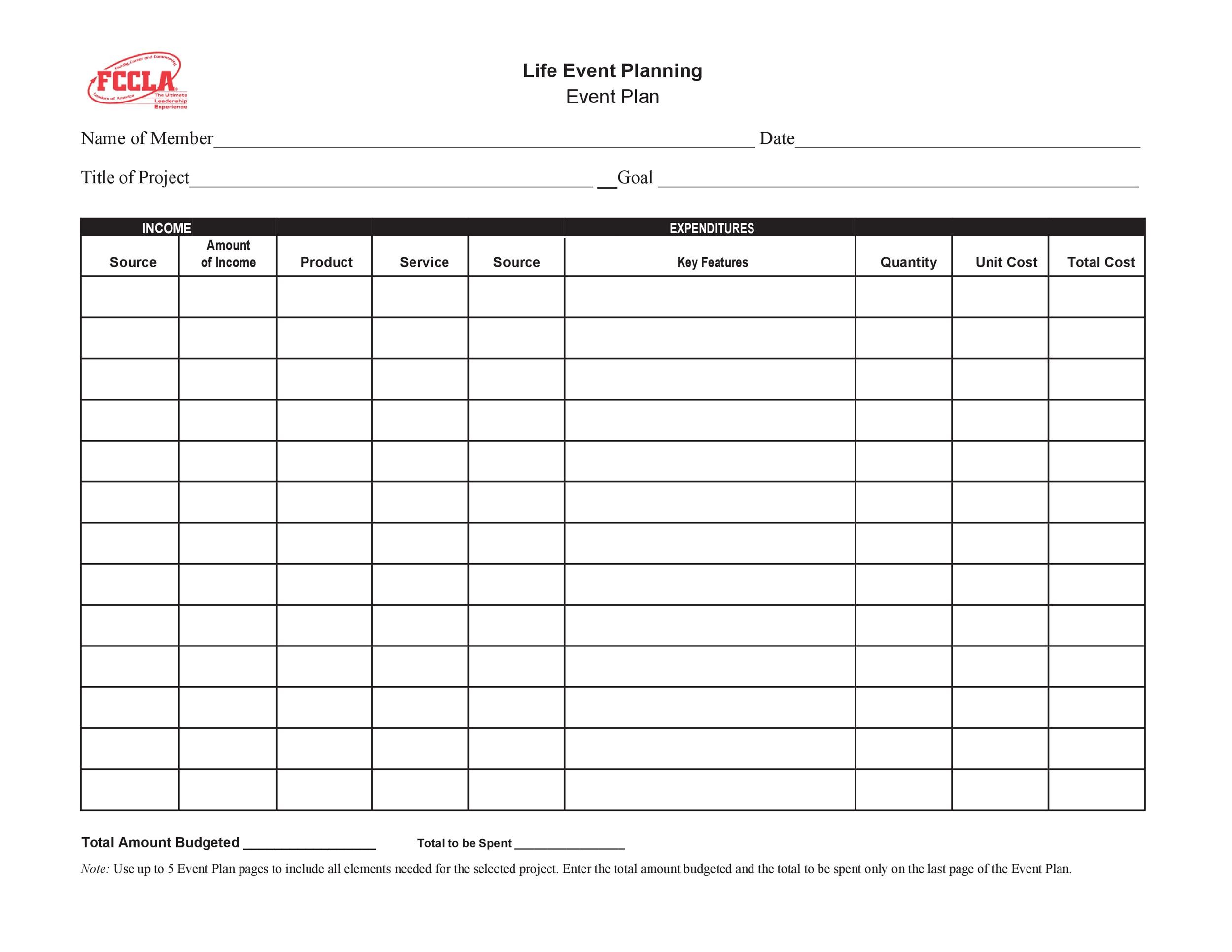 50 Professional Event Planning Checklist Templates