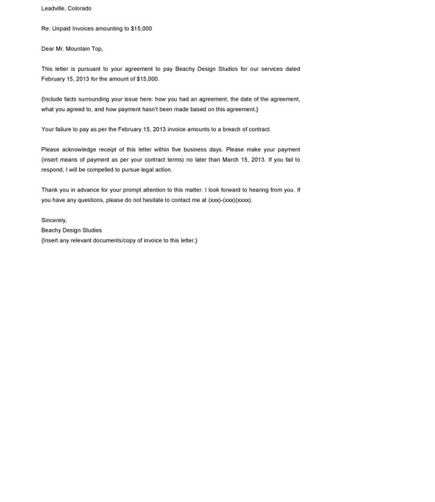 40 Best Demand Letter Templates Free