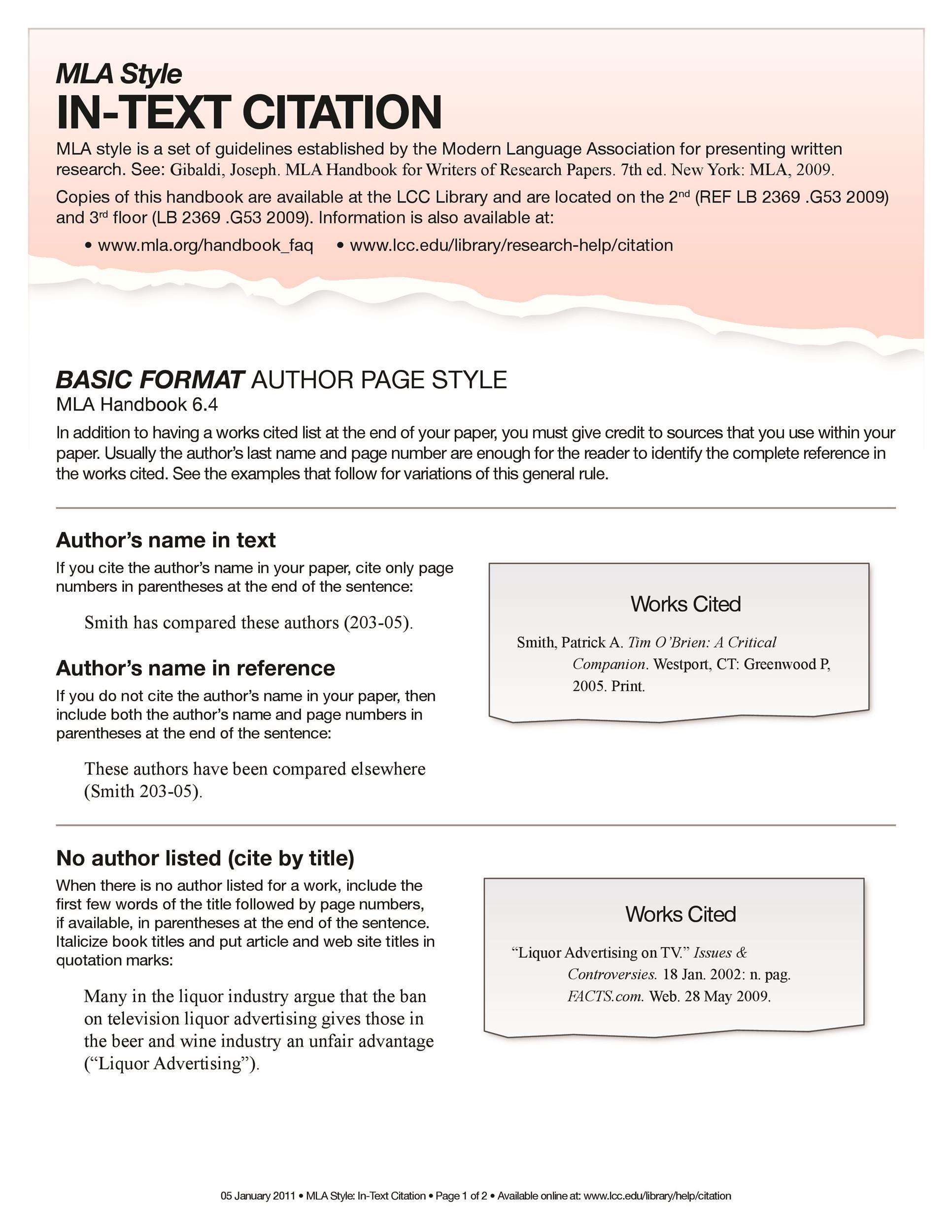 38 Free Mla Format Templates Mla Essay Format Templatelab
