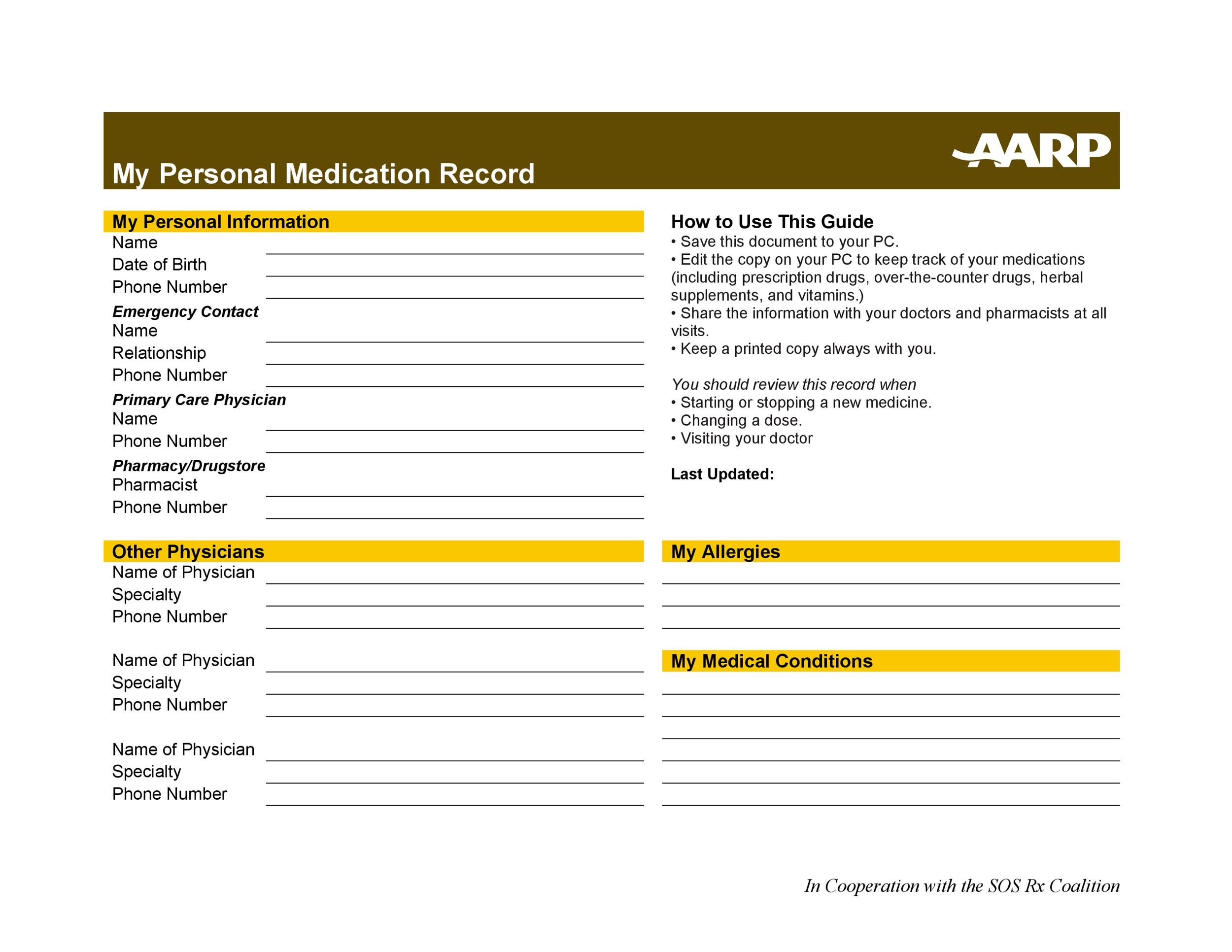 32 Prescription Drug Label Template