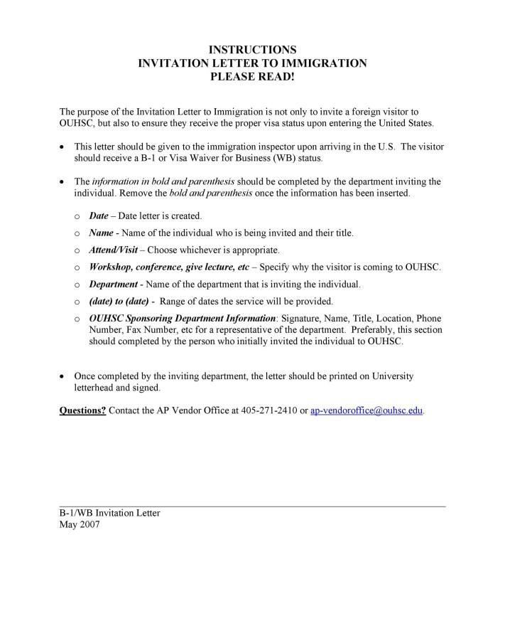 Free Invitation Letter 10