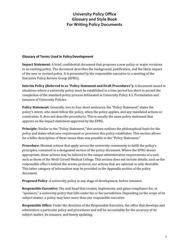 28 Professional Policy Proposal Templates [& Examples] ᐅ TemplateLab
