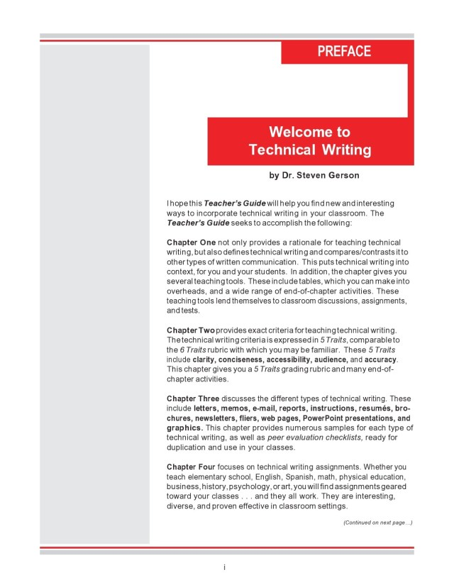 27 Good Technical Writing Examples (Word & PDF) ᐅ TemplateLab