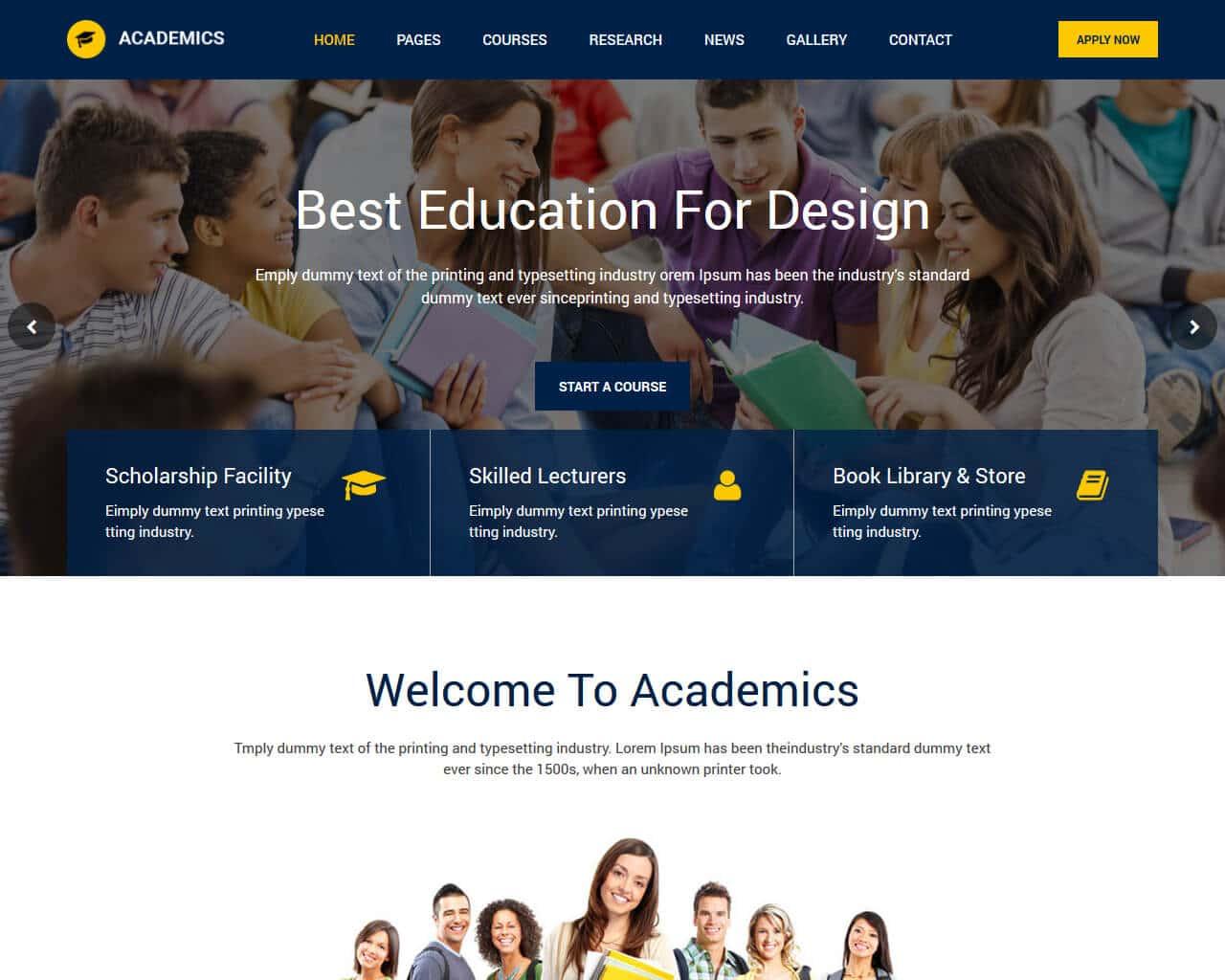 20 Best Education Html Website Templates