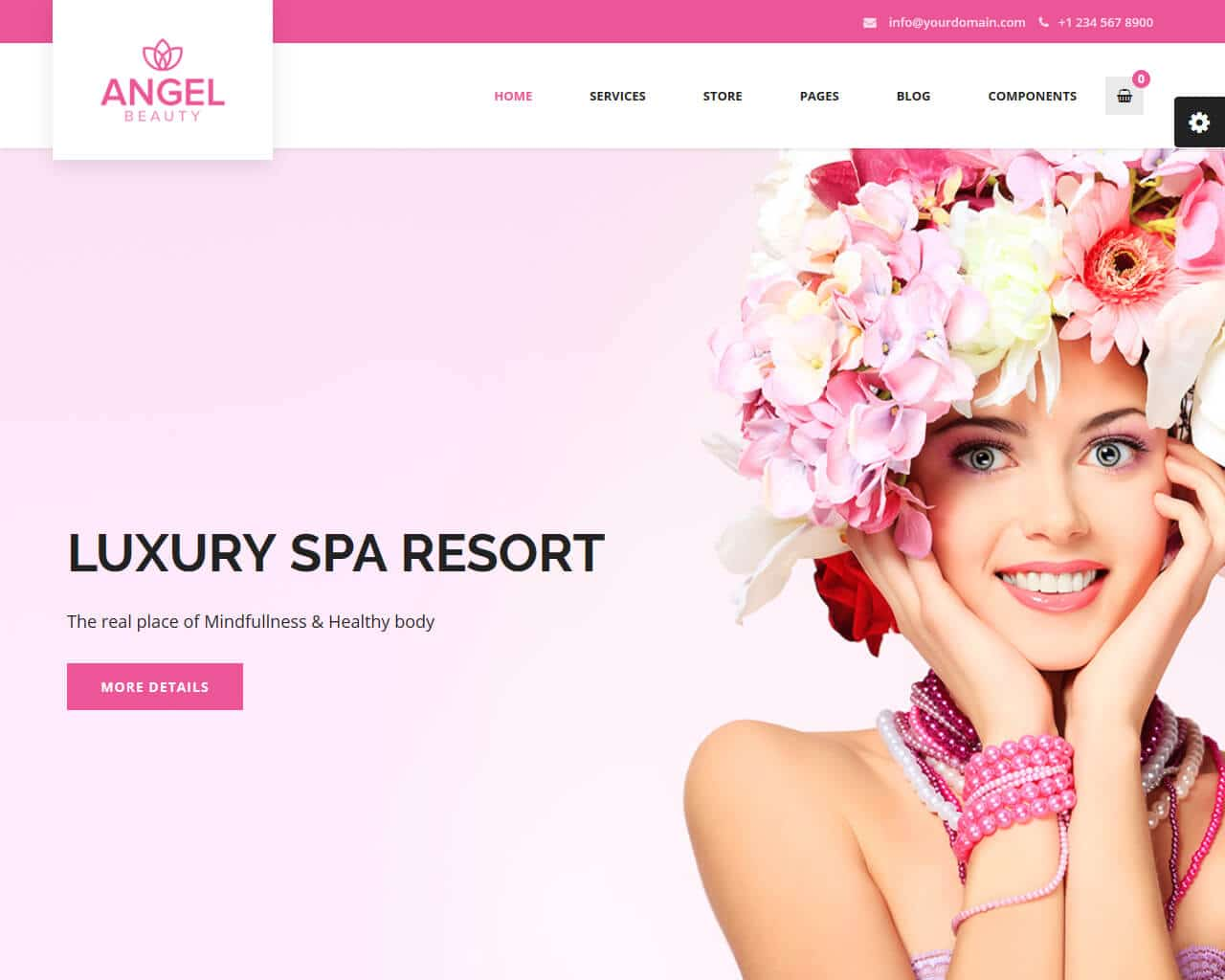 20 Best Beauty Salon And Spa Website Templates