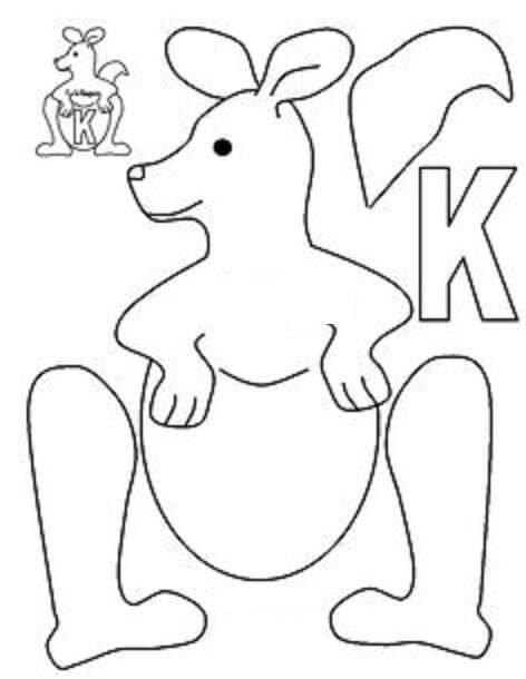 Able Letter K Worksheets For