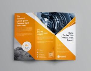 Pearl Professional Tri-Fold Brochure Template