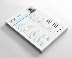 Classical Resume Design