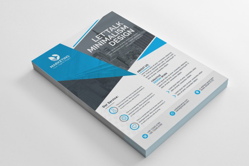 PSD Classy Business Flyer Templates