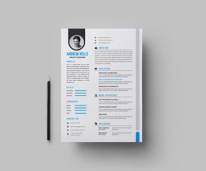 EPS Creative Resume Design