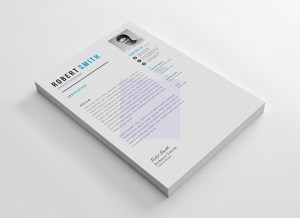 EPS Versatile Resume Template