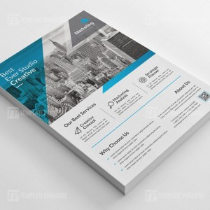 Contractor PSD Business Flyer