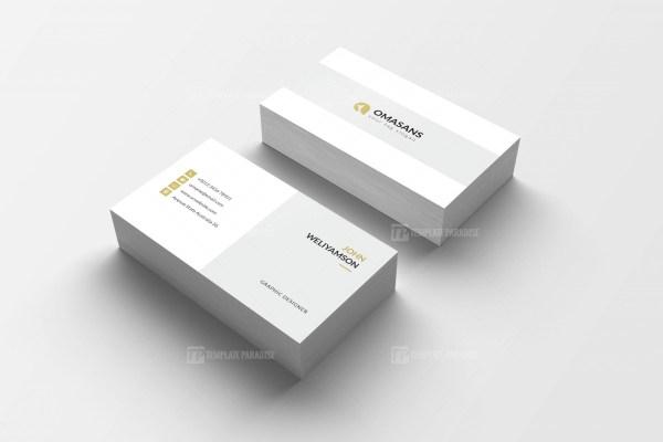 PSD Clean Business Design Card