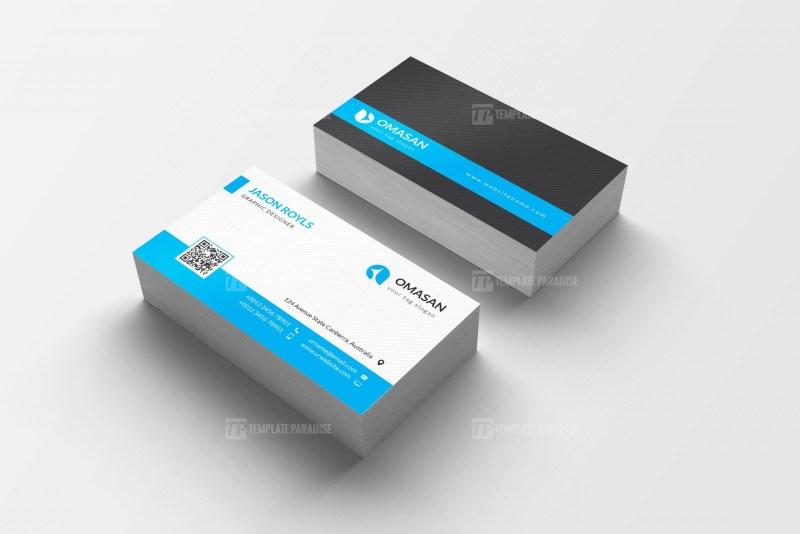 PSD Clean Business Card Design