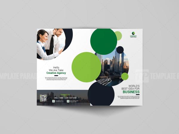 A4 Sleek Bi-Fold Brochure