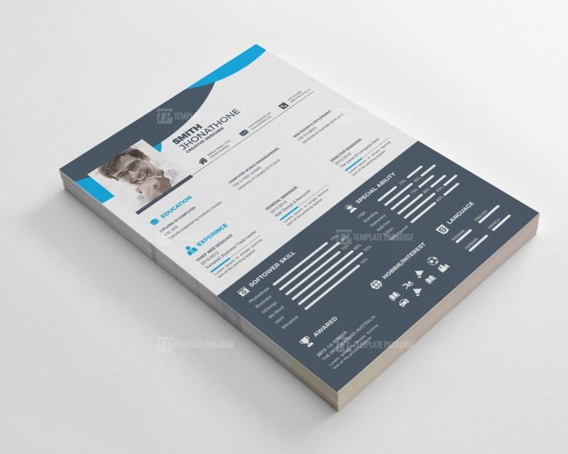 Impressive Resume CV Design