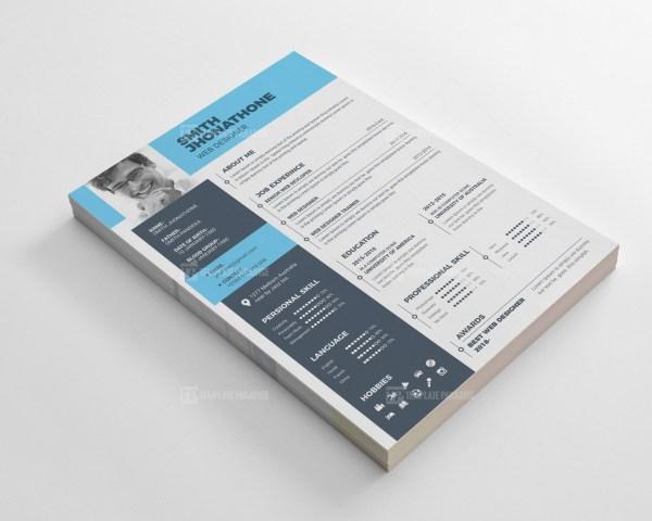 Modern Resume CV Design Templates