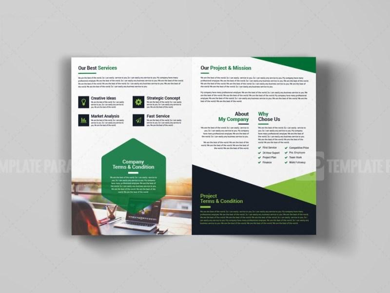 Bi-Fold Booklet Template