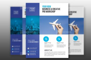 Clean PSD Corporate Flyer