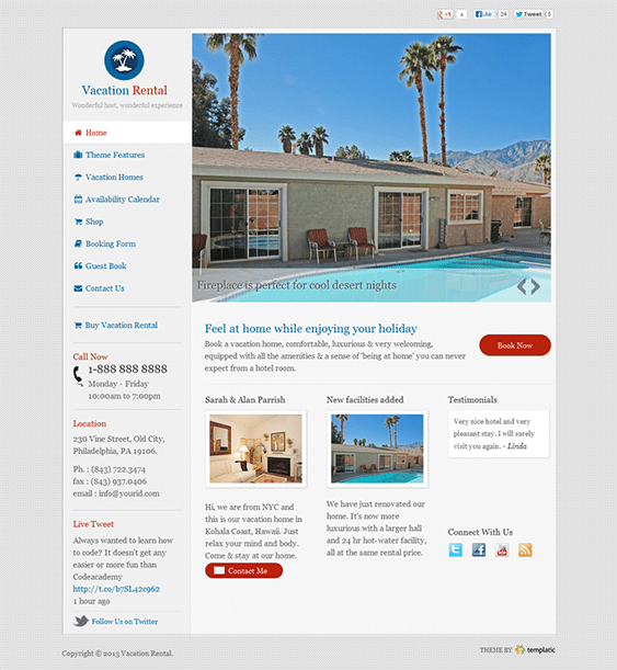 Best Websites For Renting: 5 Of The Best WordPress Themes For Hotels