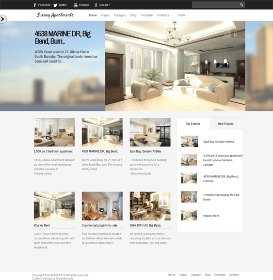 8 Of The Best Joomla Real Estate Templates