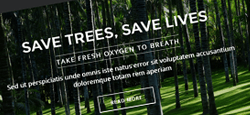 green eco-friendly organic joomla themes feature