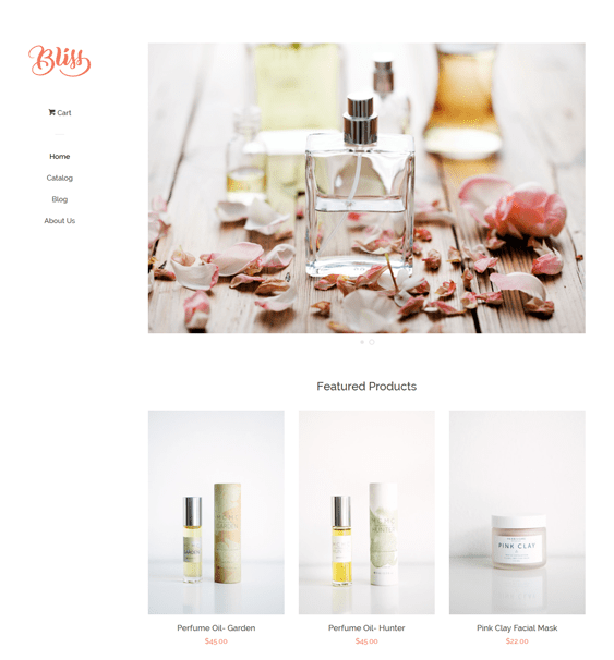 pop bone free minimal shopify theme