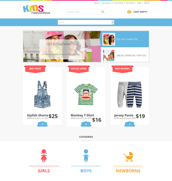 jm kids joomla templates