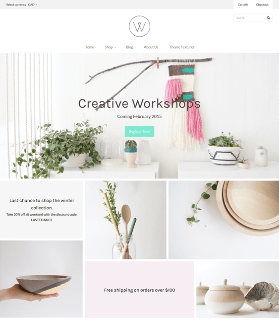 grid homewares furniture shopify themes