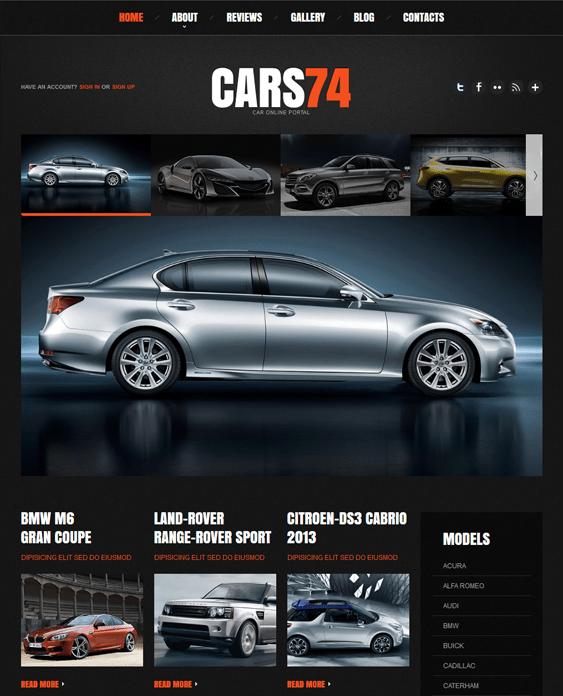 car portal car vehicle automotive joomla templates