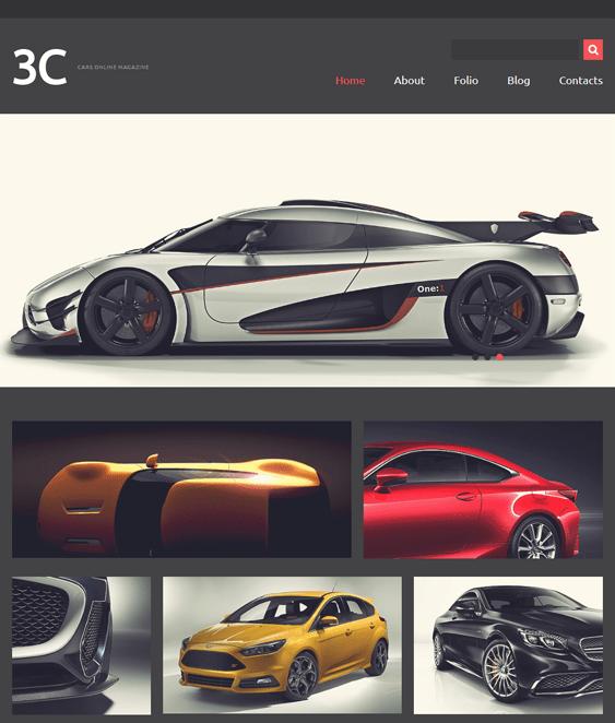 enthusiasts car vehicle automotive joomla templates