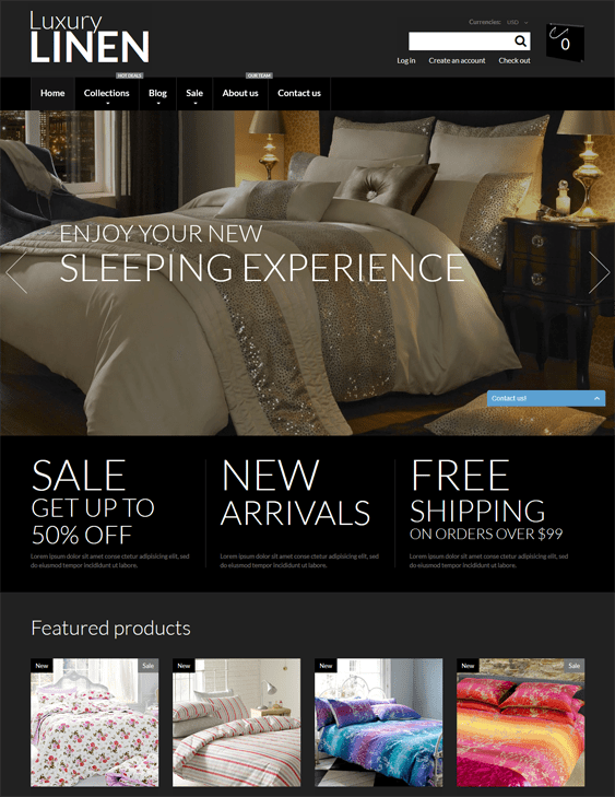 home decor interior design shopify themes