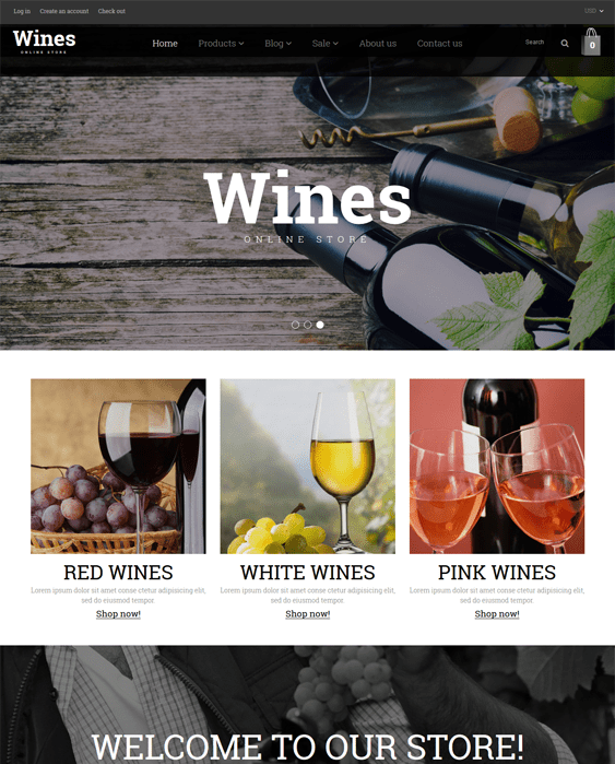 wine clean shopify themes