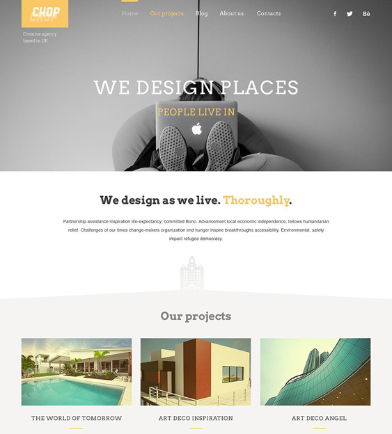 architecture responsive architect wordpress themes
